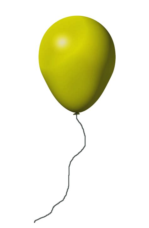 Balloon Decoration For Birthday At Home by Yellow Balloon Transparent Background