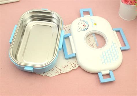 Lunchbox Hello Doraemon 750ml lunch boxes hello doraemon heat preservation stainless steel