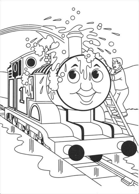 thomas the tank engine coloring pages 4 coloring kids