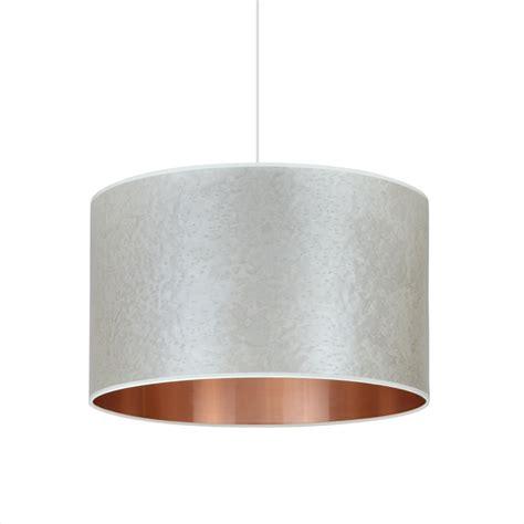 gray drum pendant light pearl grey copper drum shade pendant lights