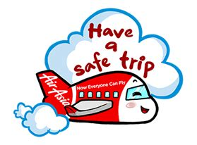 airasia png air asia line stickers