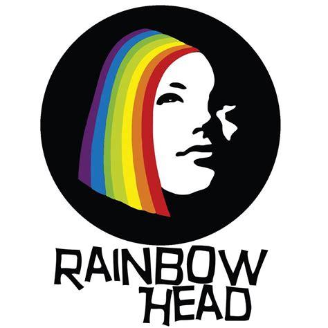 rainbow head