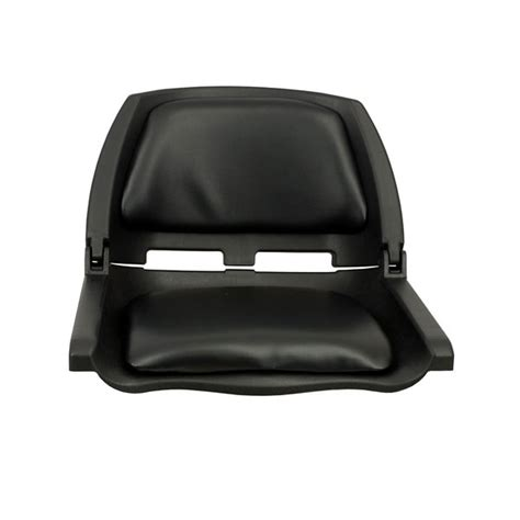 folding boat materials springfield traveler folding seat black upholstery with