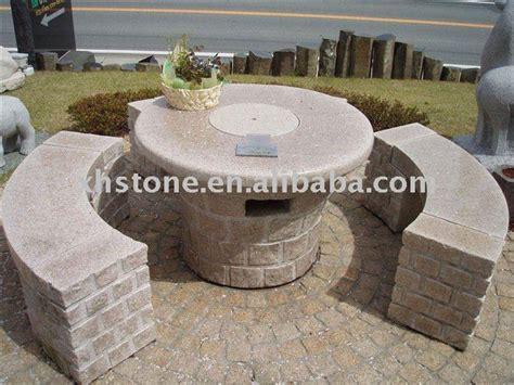 Batu Lava Granito outdoor furniture taman hias tangan diukir granit meja