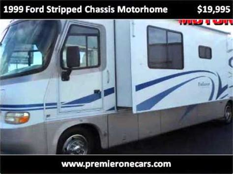 ford f550 motorhome chassis 1999 ford stripped chassis motorhome used cars pasco