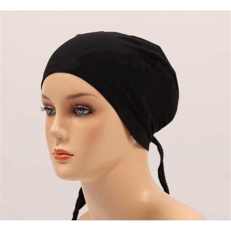 Quality Havisa Top Fashion Muslim top quality stylish scarf bonnet tie back cap for