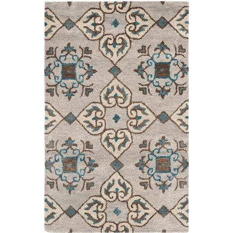 2 6 x 4 rug safavieh wyndham beige multi 2 ft 6 in x 4 ft area rug wyd617a 24 the home depot