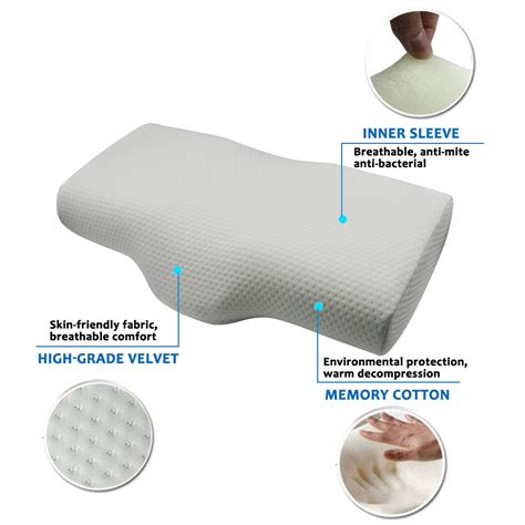 most comfortable mattress for side sleepers valuetom cervical contour pillow for neck pain most