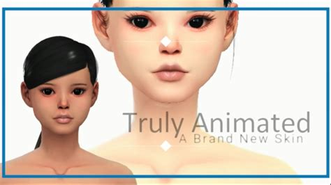 cc sims 4 female skin the sims 4 cc new male female skin truly animated