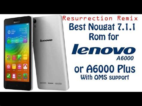 Lenovo A6000 Plus Warna Putih Best Nougat 7 1 1 Rom For Lenovo A6000 Plus