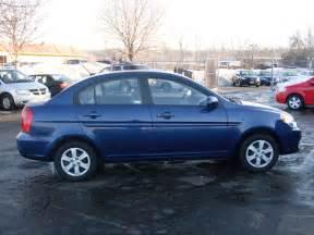 2010 Hyundai Accent Blue 2010 Hyundai Accent
