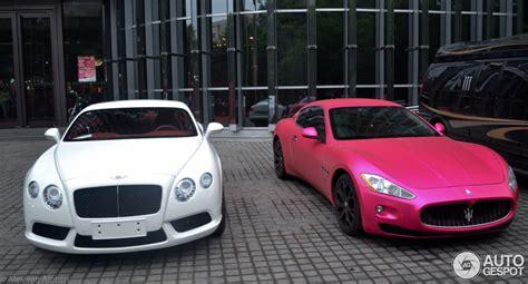 Pink Maserati Here S A Pink Maserati From China Where Else Autoevolution