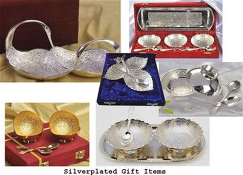 silver indian wedding gifts   Google Search   Wedding