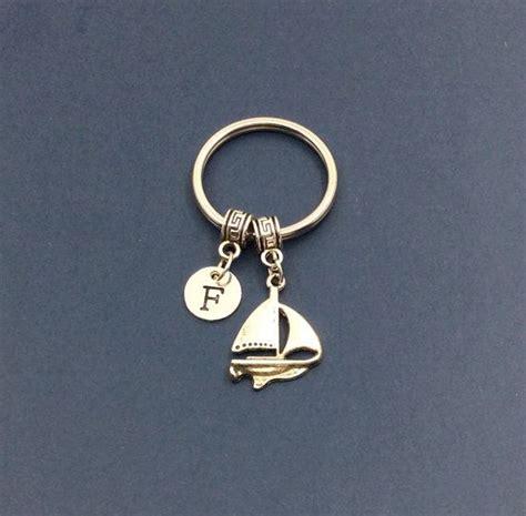 sailing boat keyring sailing boat key chains best friend keychain sailing
