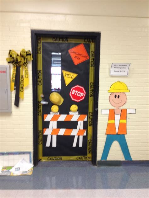 construction theme classroom decorations construction school theme firstgradefaculty