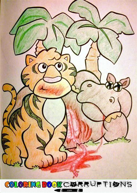 disturbing coloring book corruptions des coloriages pour enfants compl 232 tement corrompus 2