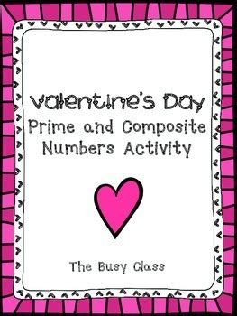 s day prime s day prime and composite numbers activity by