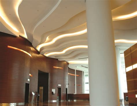 Lighting For Ceiling Led Light Mezzanine Ceiling Restaurant Build Out Pinterest
