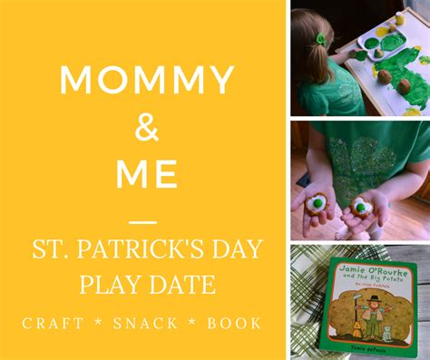 St Momy and me st s day play date