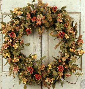 fall wreaths fall wreaths autumn decorating ideas bright bold and