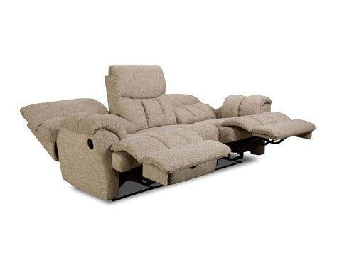 wall hugger reclining sofa southern motion re fueler reclining sofa console
