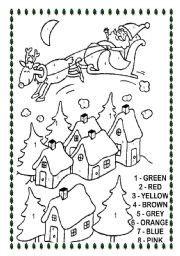 christmas worksheet by sandrazitta