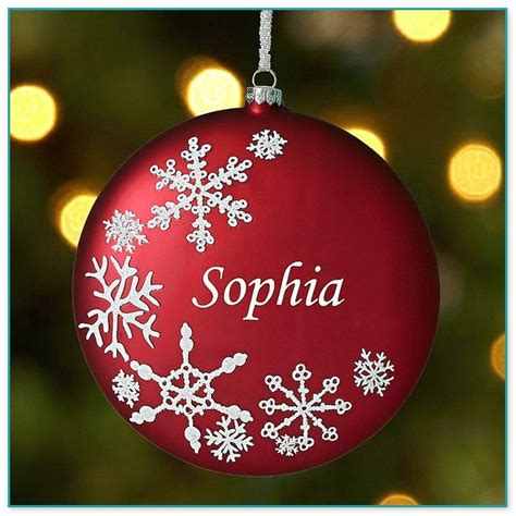 personalized christmas ornaments in bulk christmas decore