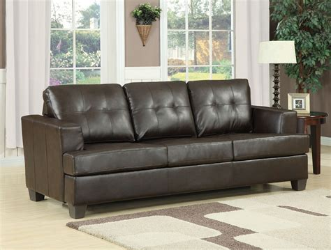 black leather sleeper sofa queen platinum brown bonded leather sofa with queen sleeper