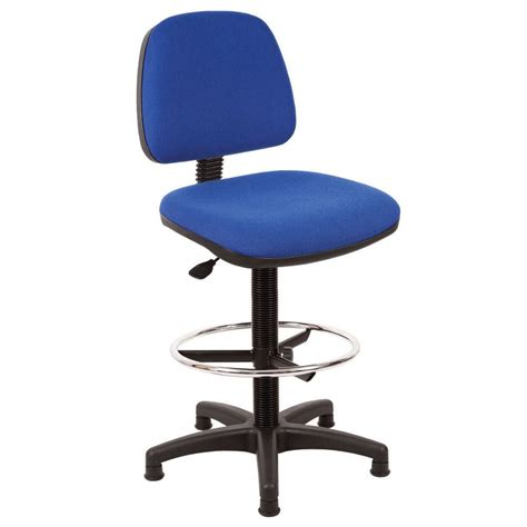 Ergo Chair Staples Ergonomic Draughtsman Chair Blue Staples 174
