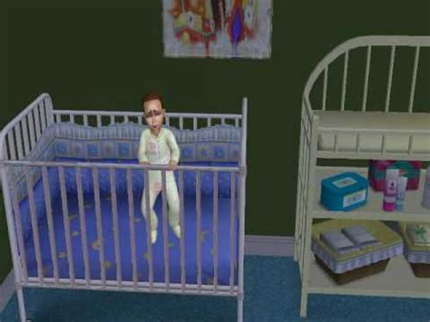Baby Keeps Waking Up In Crib by Sims 2 Toddler Breaks Out Of Crib To Go Play With Toilet