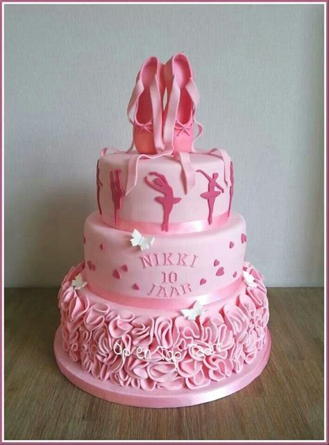 Balet Shoes Birthday Cakes 868 best ballerina cakes images on ballerina