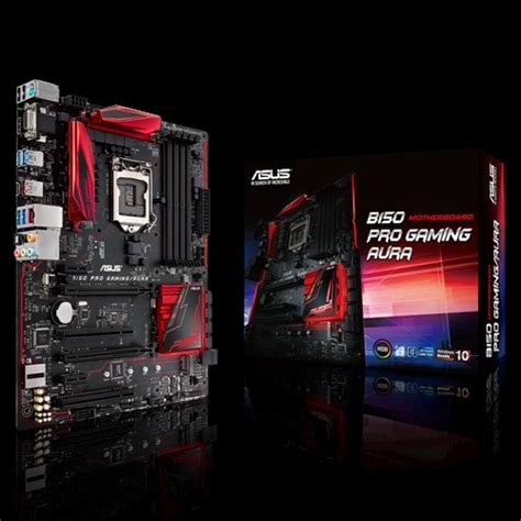 motherboards with rgb lighting asus unveils b150 pro gaming aura motherboards with rgb