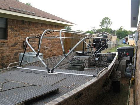 conduit duck boat blind plans 25 best ideas about duck boat blind on pinterest boat