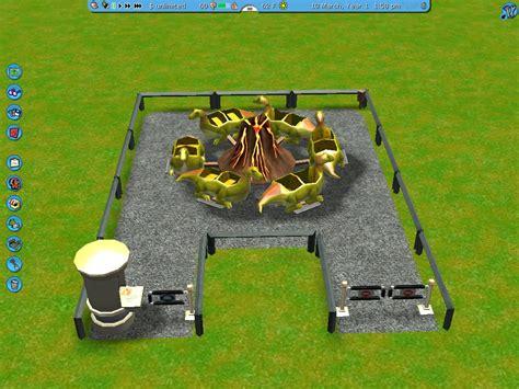 Roller Coaster Track Dinosaur dinosaur go around roller coaster tycoon 3 wiki fandom