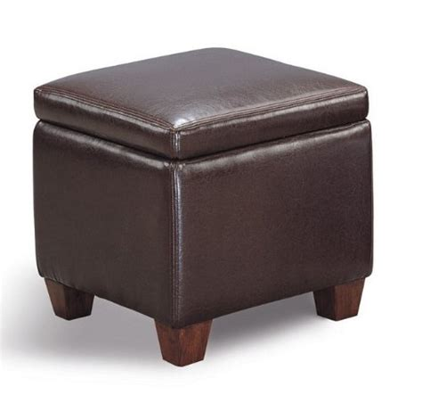 cheap ottoman with storage cheap ottomans and footstools rating review dark brown