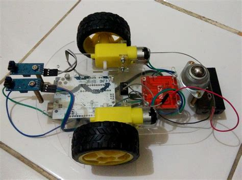 membuat robot line follower membuat robot line follower sederhana dengan arduino