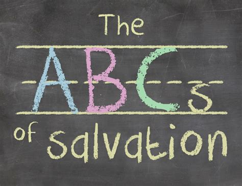 printable abc s of salvation abcs of salvation teen missions international