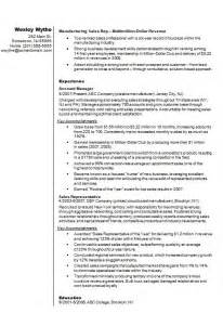 Manufacturing Production Assistant Sle Resume by Sales Representative Cv R 233 Sum 233 Exle How To Write A Cv