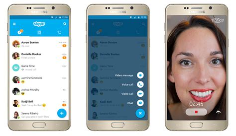 skype for android phone skype 6 0 brings reved design to both ios and android