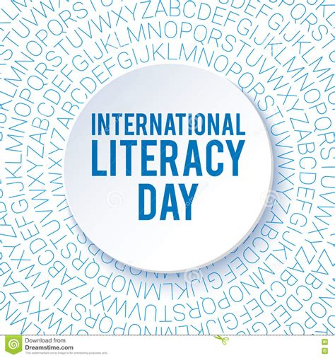 themes for reading day international literacy day background poster flyer