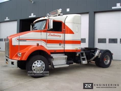 kenworth tractor trailer kenworth t800 1999 standard tractor trailer unit photo and