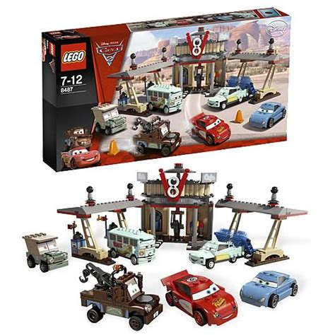 Lego 8487 Cars Flos V8 Cafe lego cars 8487 flo s v8 cafe lego cars construction