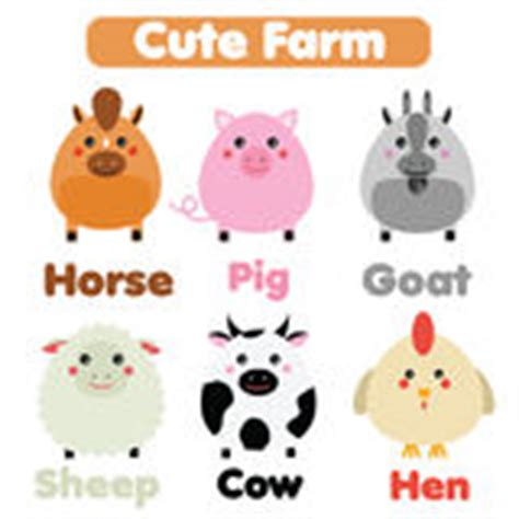 cute animals in boats kids design elements set stock set collection of cute kawaii style happy smiling animals