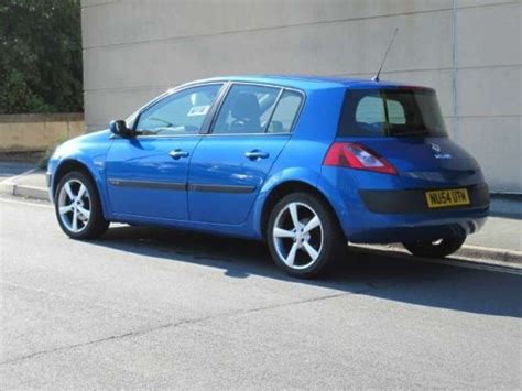 renault megane 2004 blue 2004 renault megane photos informations articles