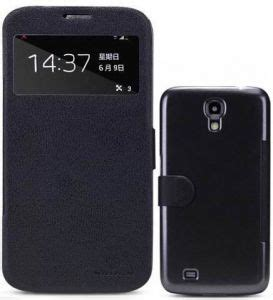 Flip Cover S View Samsung Galaxy Mega I9200 Original nillkin fresh series samsung galaxy mega 6 3 i9200 i9205 s view smart flip leather cover