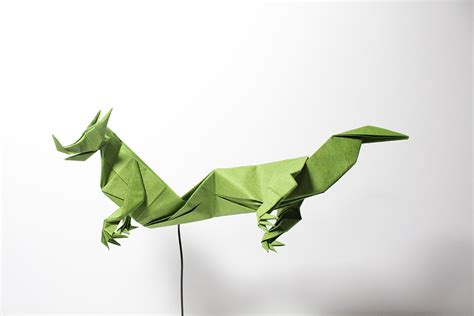Eastern Origami - get fired up for these origami dragons