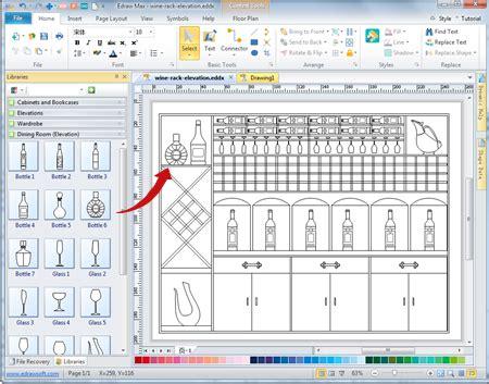 Shelf Planning Software by Wine Cabinet Designing Software