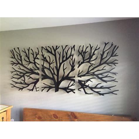 Tableau Branche d'arbre 3 Pièces   Mannou Deco