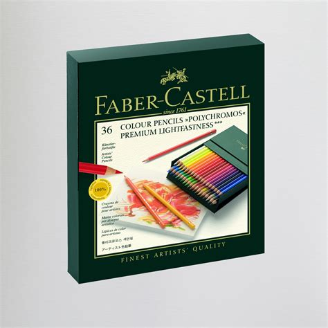 Crayon Faber Castell Pastel 48 Warna faber castell polychromos artist pencils gift box set of 36 coloured pencils colouring