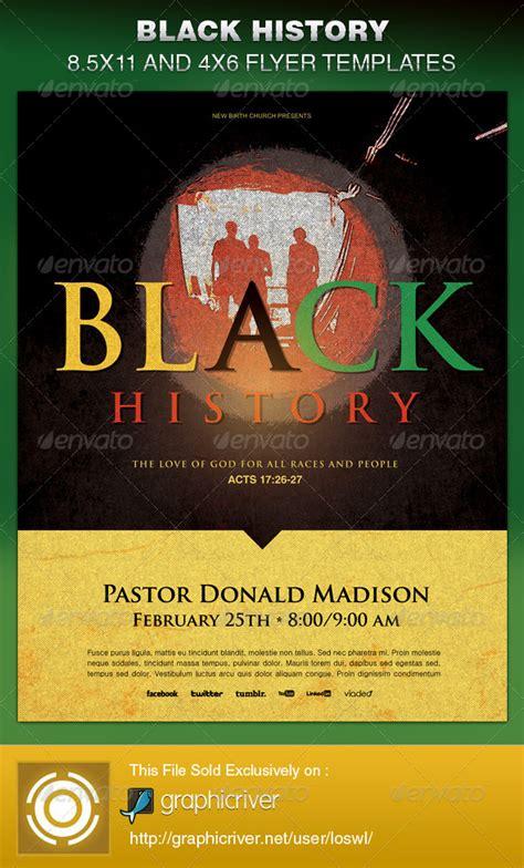 black history month church bulletins